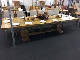 extra large wood dining tables. extra large extending dining table. galahad fully extended oak table wood tables s