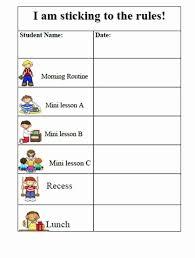 behavior charts for preschoolers template preschool behavior chart template luxury free printable reward