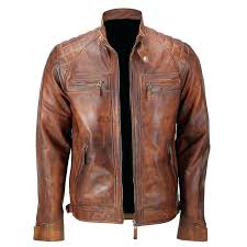 brown leather jacket classic diamond brown distressed leather jacket the jackets brown leather jacket outfits polyvore