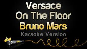 Bruno Mars - Versace On The Floor (Karaoke Version)