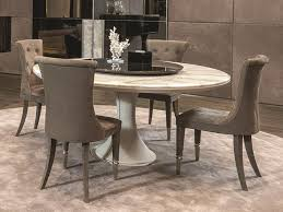 round marble table with lazy susan david table with lazy susan by longhi