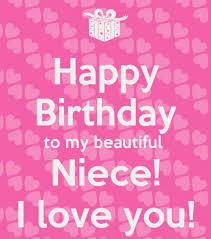 Happy Birthday To My Beautiful Niece I Love You