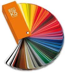 Ral Color Chart K5 K7