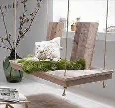 DIY wooden pallet swing bed ideas: