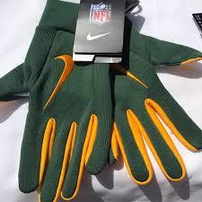 Nike Nfl Stadium Gloves Size Chart Nike Green Bay Packers Stadium Fan Gloves Nwt