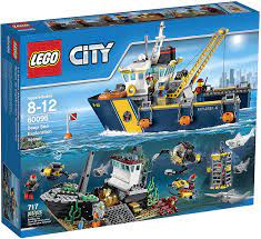 LEGO City Deep Sea Explorers 60095 Exploration Vessel Building Kit by LEGO:  Amazon.de: Spielzeug