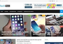 Tech News Blogger Template Blogspot Templates 2019