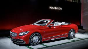 The new Mercedes-Maybach S 650 Cabriolet.