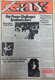 New york gay newspaper