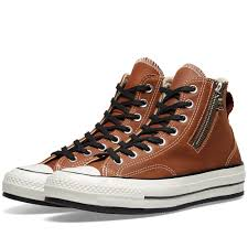 converse chuck taylor 1970s riri zip brown leather 163088c solefinder solefinder
