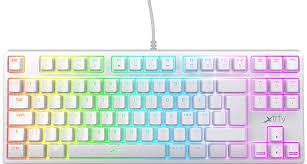 Купить игровая <b>клавиатура Xtrfy K4 RGB</b> Tenkeyless (White ...
