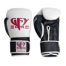gfy elite gel leather boxing muay thai glove