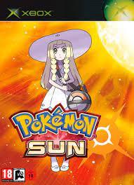 Oh my god there's Pokemon Sun on the original Xbox.: pokemon
