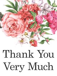 Pink Flower Thank You Card Traditional Yet Beautiful This Thank Magnificent Beautiful Madam In Beautiful Garden Quotes