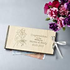 Envelope Wedding Personalised Wooden Money Wedding Gift Envelopes