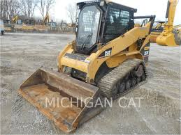 2005 caterpillar 257b crawler skid steer loader for 2005 caterpillar 257b crawler skid steer loader for michigan cat brownstown twp mi usa rock dirt inventory id 38522919