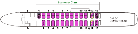 Dhc 8 400 Dash 8q Seating Chart Japan Airlines Fleet Bombardier Dash 8 Q400 Details And