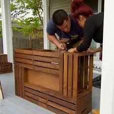 diy wine crate table top ideas