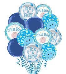 Congratulations For A Baby Boy 12 Baby Boy Balloons Blooms Today