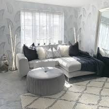 Grey Feather Wallpaper - Living Room ...