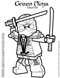 Small Picture Ninjago Green Ninja Lloyd In Kimono Costume Coloring Page Print