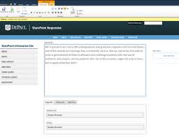 Formatting Text Basics Sharepoint Information Site Depaul