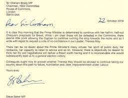 Who Do We Know Has Written A No Confidence Letter Bbc News