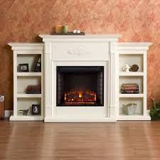 harper blvd dublin 70 inch ivory electric fireplace