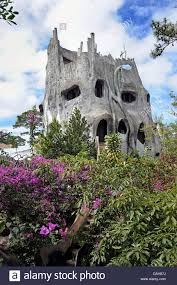 Crazy House Hotel, also known as Hang Nga Guesthouse, Dalat ...