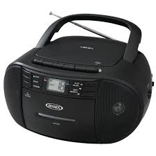 jensen cd 545 portable stereo cd player with cassette recorder am fm radio com