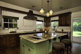kitchen classic galley kitchen design modern wall mounted electric oven stainless steel cream oak wood