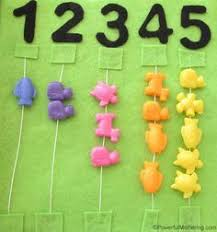 name and numbers no sew quiet book page