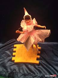 hamilton gifts wizard of oz ballerina yellow brick road stand