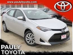 New 2018 Toyota Corolla LE 4D Sedan in Crystal Lake #29275 | Pauly ...