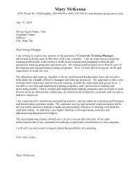Writing Job Cover Letter Sample Cover Letters For Employment Letter