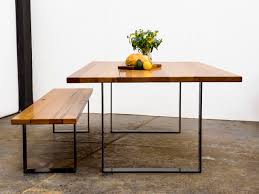 timber dining table melbourne mindariebrmarri seat steel squareu table by glencross furniture handkrafted
