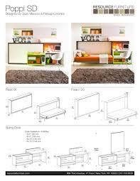 POPPI THEATRE.SPEC SHEET - Resource Furniture