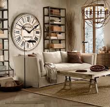 ... Giant Wall Clock Large Modern Wall Clocks Large Wall Clock With Vintage  Style In ...