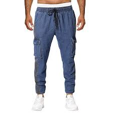 Pohok Summer Pants For Men Summer New European And American