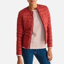 <b>Куртка стёганая</b> красный/ кирпичный <b>La Redoute</b> Collections | La ...