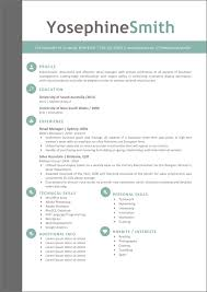 94 Creative Word Resume Template Word Resume Templates Creative