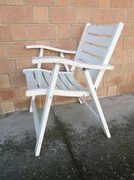 lacquered wood garden chairs from flli