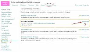 Create Outlook Message Template List Building Tip Optimize Your Group Email Message Template Outlook