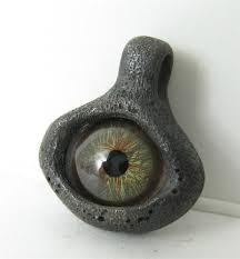 eye amulet evil eye pendant black