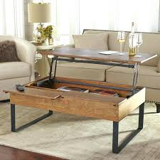 lift top coffee table storage hydraulic dual up with file hy