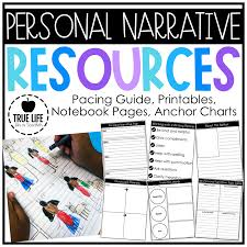 Beginning Middle End Anchor Chart 15 Personal Narrative Mini Lessons True Life Im A Teacher