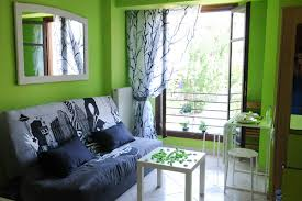 black green living rooms