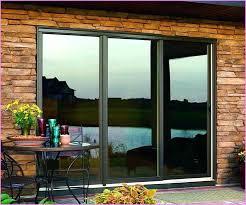 3 panel sliding glass doors door curtains locks