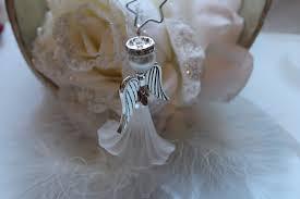 2 6 Xl Blüten Engel Basteln Christbaumschmuck Gastgeschenk Diy Set Weiss