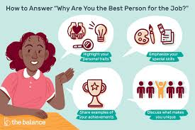 Unique Job Skills Interview Question Why Are You The Best Person For The Job